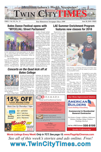 Twin City Times - Jun 28, 2018