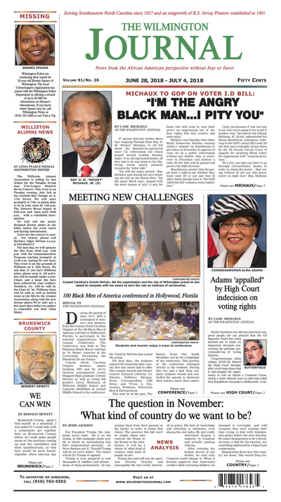 Wilmington Journal - Jun 28, 2018