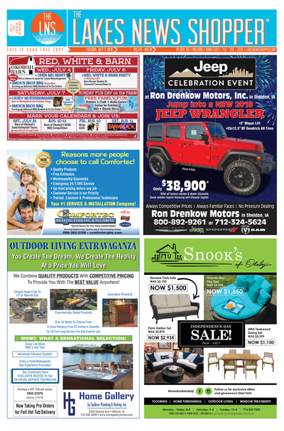 Lakes News Shopper - Jul 3, 2018