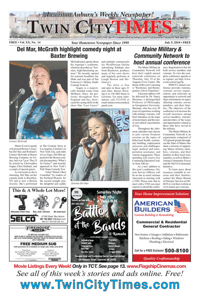 Twin City Times - Jul 5, 2018