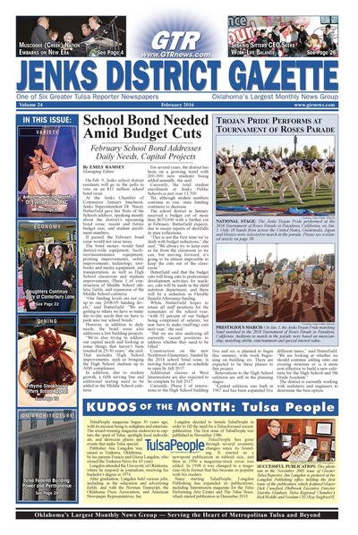 Jenks District Gazette - February 2016
