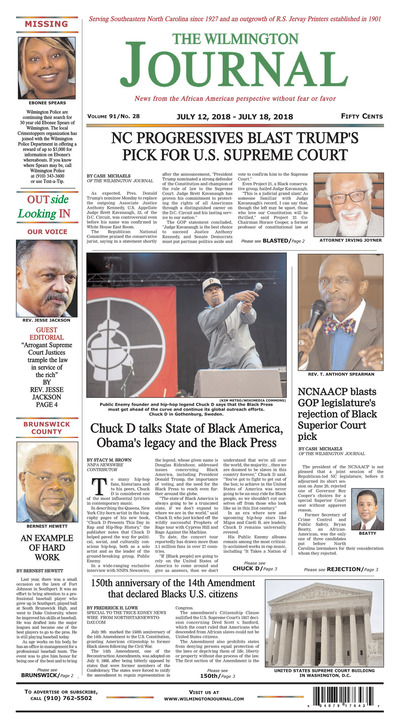 Wilmington Journal - Jul 12, 2018