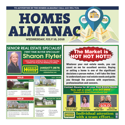News-Herald - Special Sections - Homes Almanac - July 2018