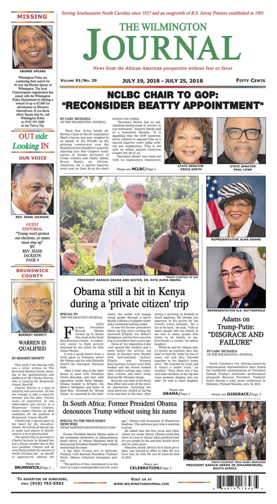 Wilmington Journal - Jul 19, 2018