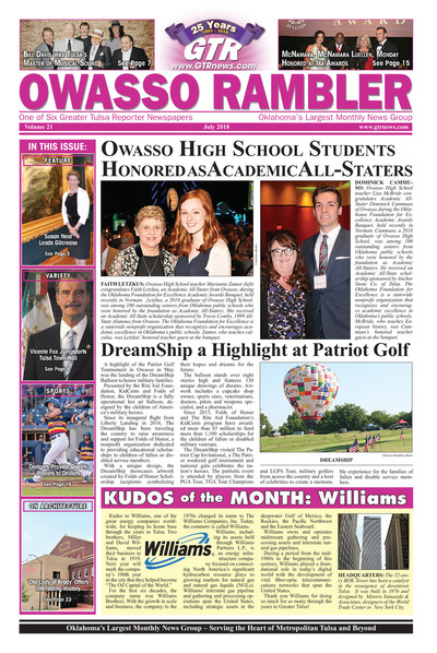 Owasso Rambler - July 2018