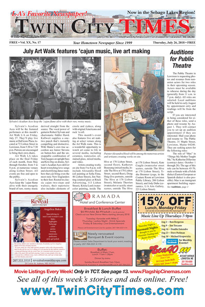 Twin City Times - Jul 26, 2018