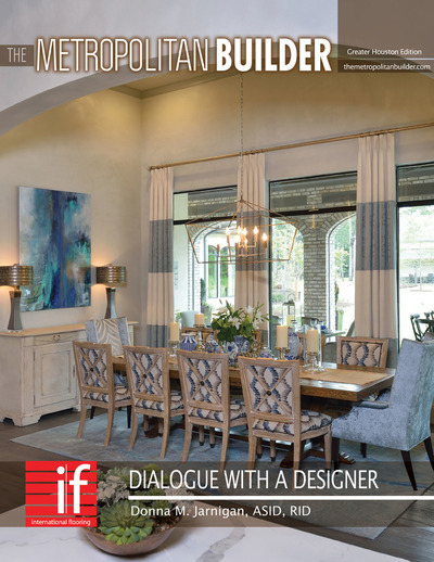 Metropolitan Builder - Dialogue with a Designer - Dialogue with a Designer - Donna M. Jarnigan