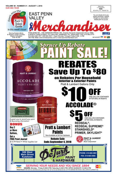 East Penn Valley Merchandiser - Aug 1, 2018