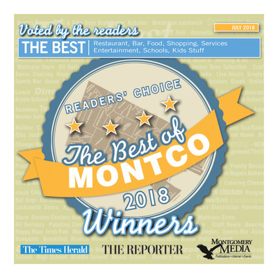 Montgomery Media - Special Sections - Best of Montco 2018