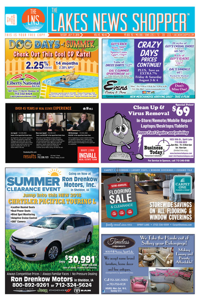 Lakes News Shopper - Jul 31, 2018