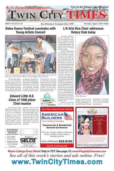 Twin City Times - Aug 2, 2018