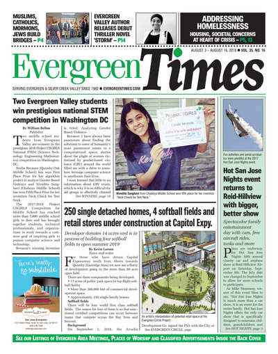 Evergreen Times - Aug 3, 2018