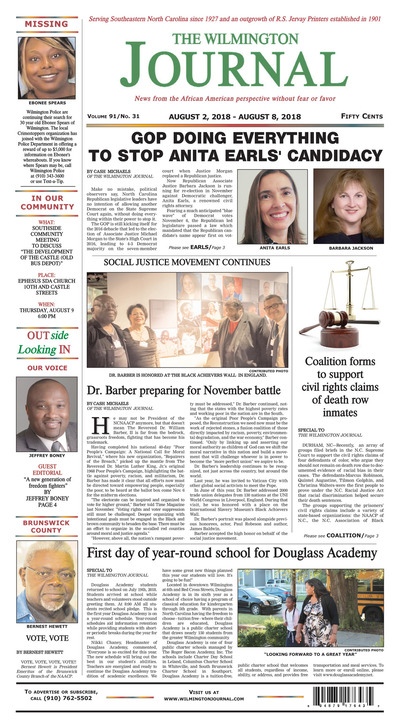 Wilmington Journal - Aug 2, 2018