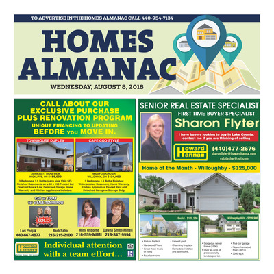 News-Herald - Special Sections - Homes Almanac - August 2018