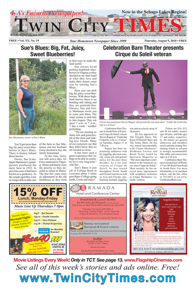 Twin City Times - Aug 9, 2018