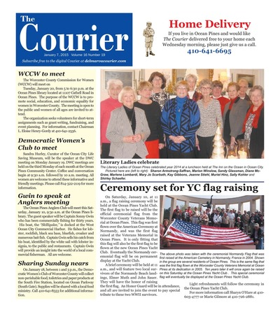 Delmarva Courier - Jan 7, 2015