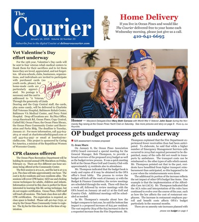 Delmarva Courier - Jan 14, 2015