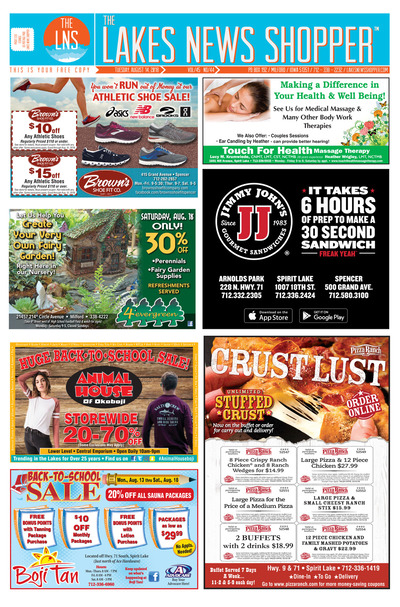 Lakes News Shopper - Aug 14, 2018