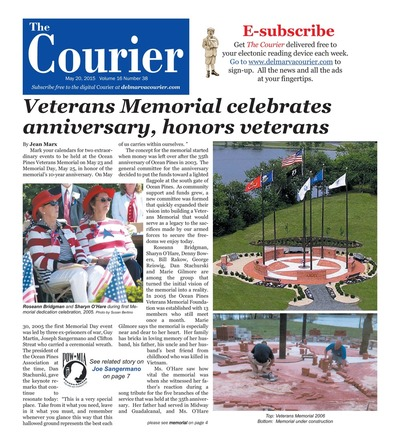 Delmarva Courier - May 20, 2015