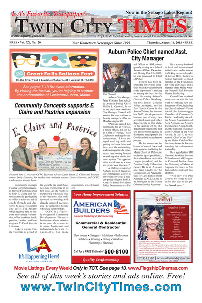 Twin City Times - Aug 16, 2018
