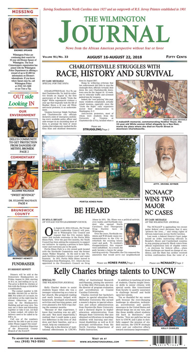 Wilmington Journal - Aug 16, 2018