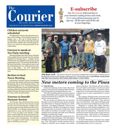 Delmarva Courier - May 13, 2015