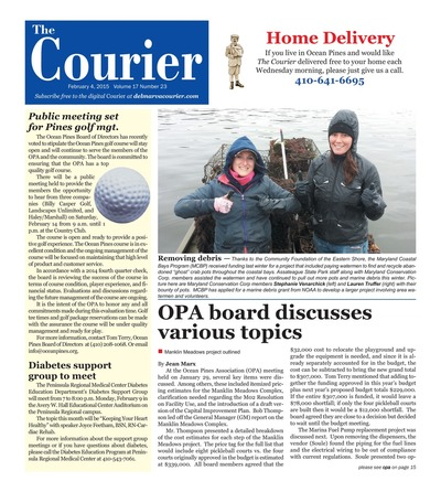 Delmarva Courier - Feb 4, 2015