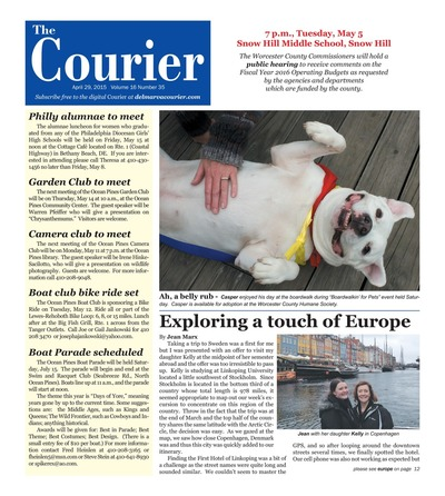 Delmarva Courier - Apr 29, 2015