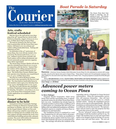 Delmarva Courier - Jul 22, 2015