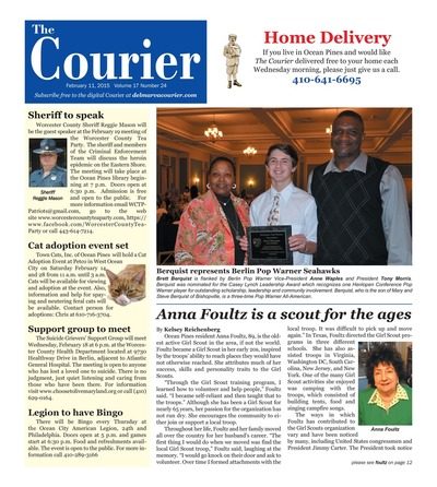 Delmarva Courier - Feb 11, 2015