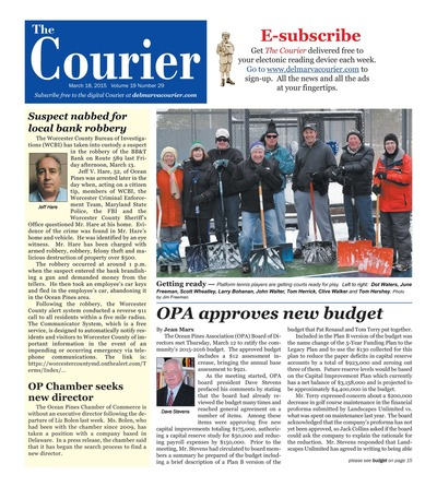 Delmarva Courier - Mar 18, 2015