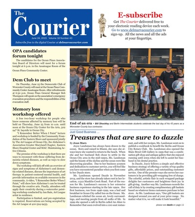 Delmarva Courier - Jun 24, 2015