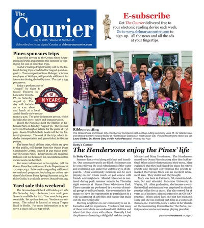 Delmarva Courier - Jul 8, 2015