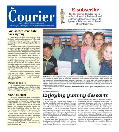 Delmarva Courier - Apr 22, 2015