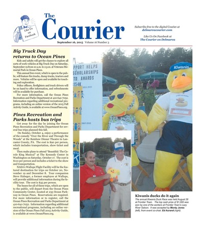 Delmarva Courier - Sep 16, 2015