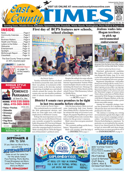 East County Times - Sep 6, 2018