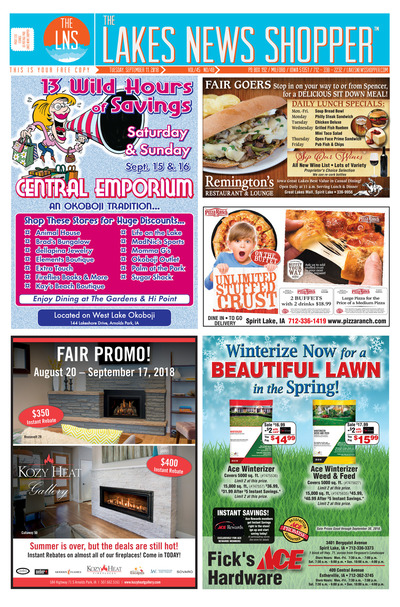 Lakes News Shopper - Sep 11, 2018
