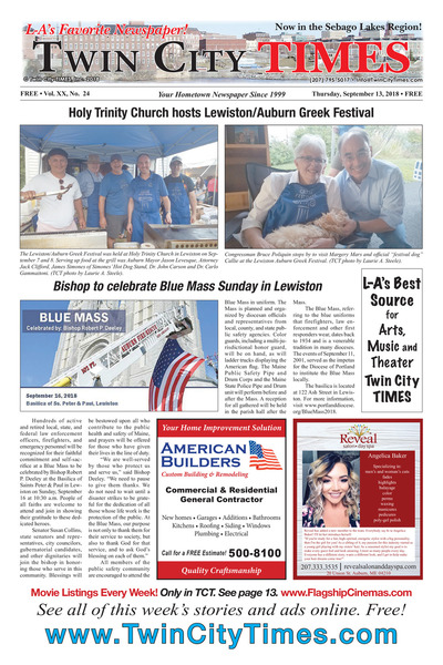 Twin City Times - Sep 13, 2018