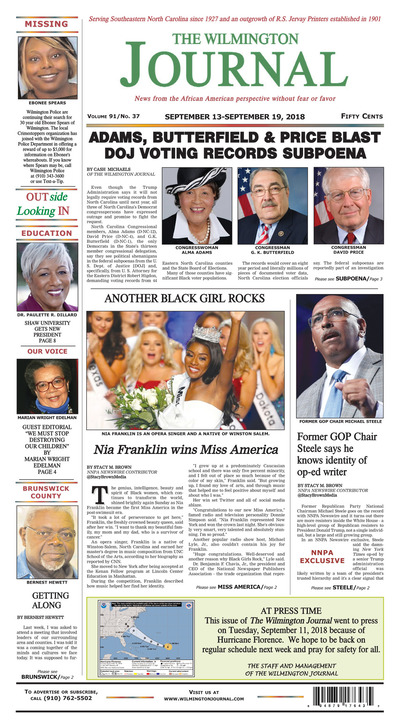 Wilmington Journal - Sep 13, 2018
