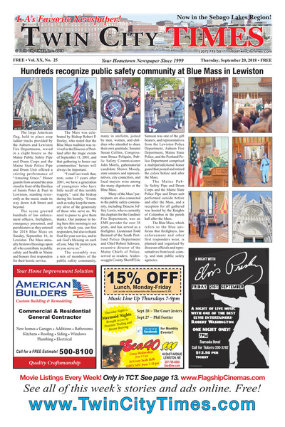Twin City Times - Sep 20, 2018
