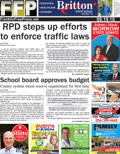 Franklin Free Press - Sep 19, 2018