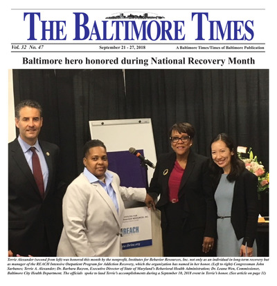 Baltimore Times - Sep 21, 2018
