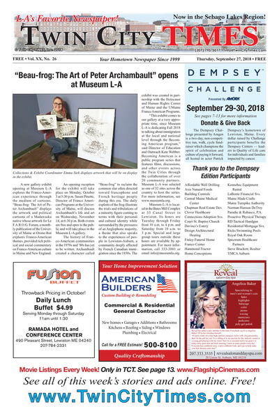 Twin City Times - Sep 27, 2018