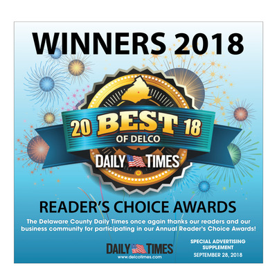 Delco Daily Times - Special Sections - Best of Delco - 2018
