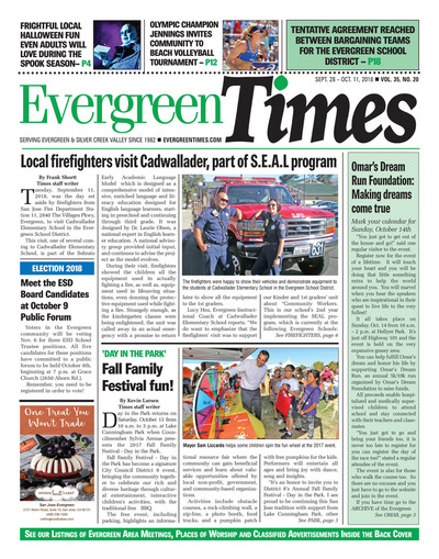 Evergreen Times - Sep 28, 2018