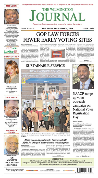 Wilmington Journal - Sep 27, 2018