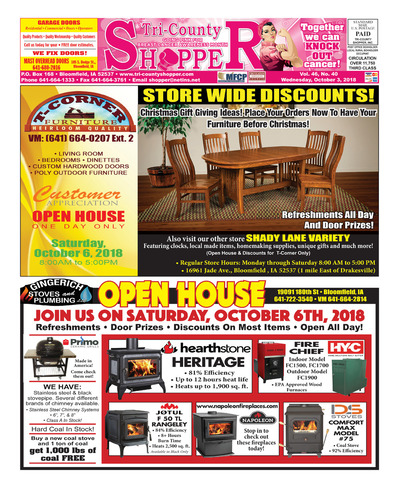 Tri-County Shopper - Oct 3, 2018