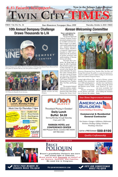 Twin City Times - Oct 4, 2018