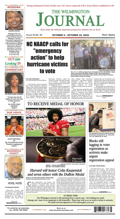 Wilmington Journal - Oct 4, 2018