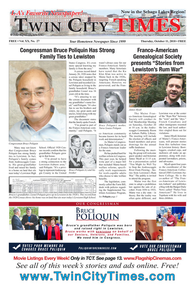 Twin City Times - Oct 11, 2018